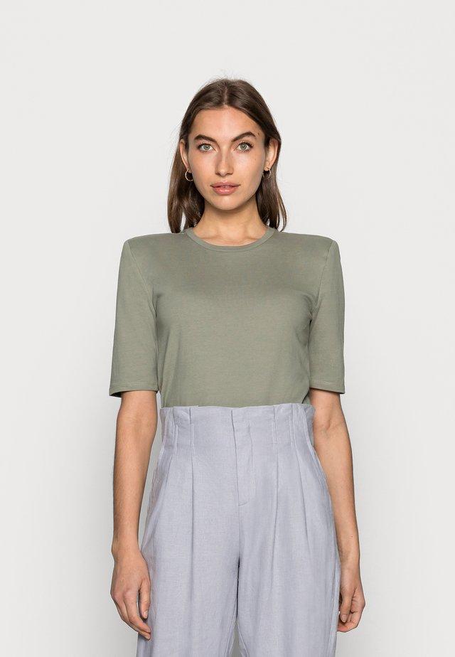 DEBORAH TEE - Jednoduché triko - dusk khaki