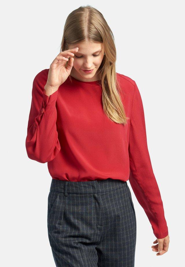 Maglietta a manica lunga - rot