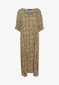 Soaked in Luxury - SLMONTOYA  - Day dress - love print ermine - 4