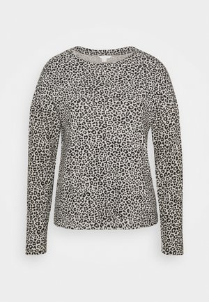 PERCHADO BICHO - Long sleeved top - medium grey