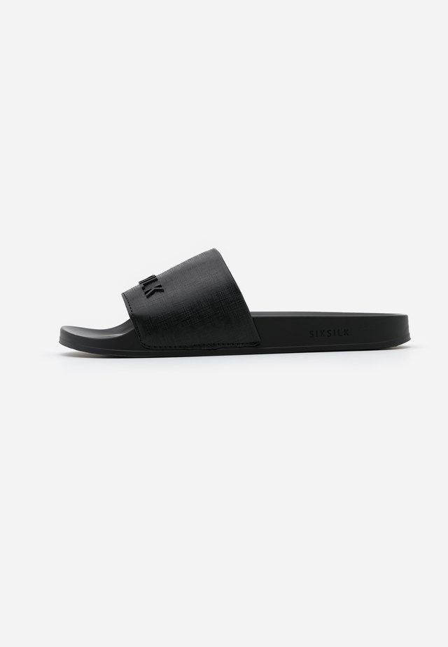 ROMA SLIDES - Pantofle - black