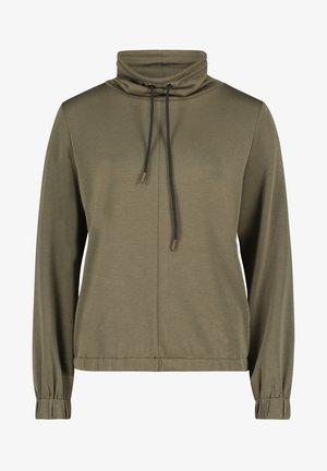 Sweatshirt - donkergroen