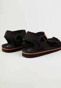 Mango - MET  - Sandals - zwart - 4