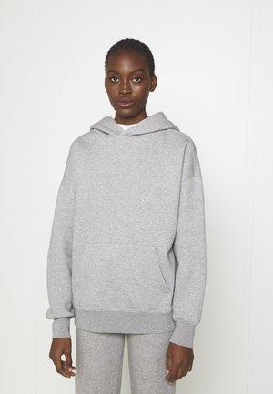 Hoodie - grey heather melange
