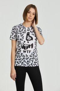Mr. GUGU & Miss GO - Print T-shirt - white - 4