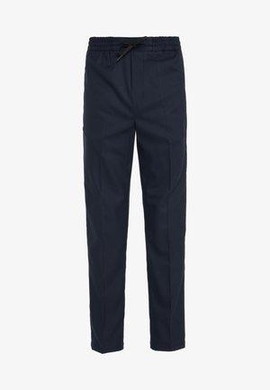 CLAVIN - Spodnie materiałowe - navy