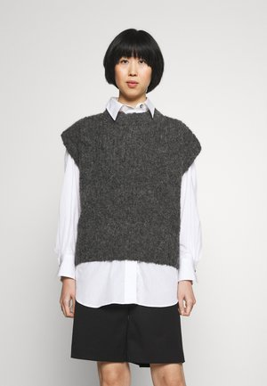 SILA VEST - Pullover - charcoal