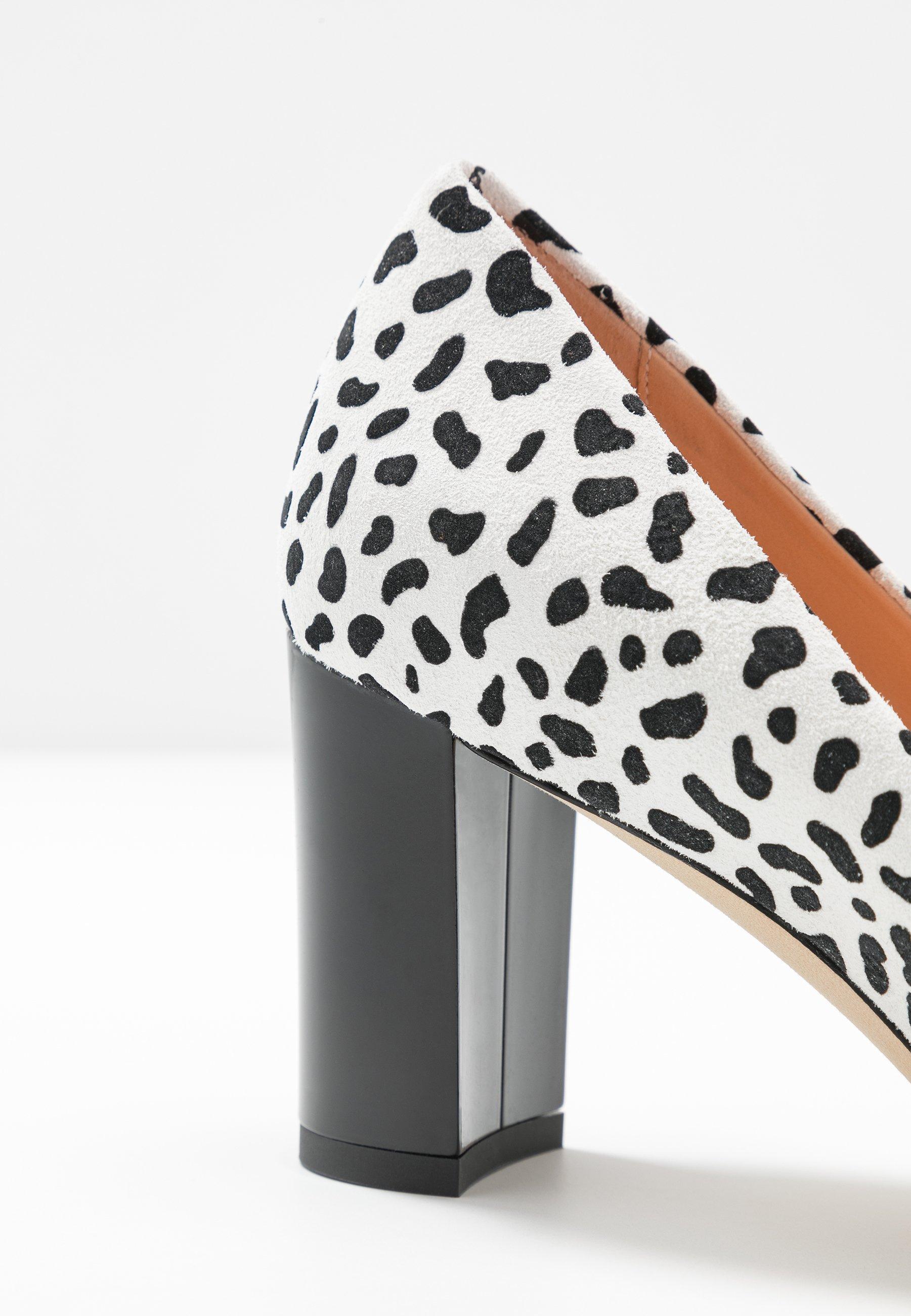 Marc Cain Classic Heels - Black/white