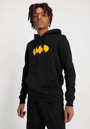 BATMAN PATCH HOODIE - Felpa con cappuccio - black