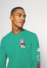 Jordan - MOUNTAINSIDE CREW - Long sleeved top - neptune green - 5