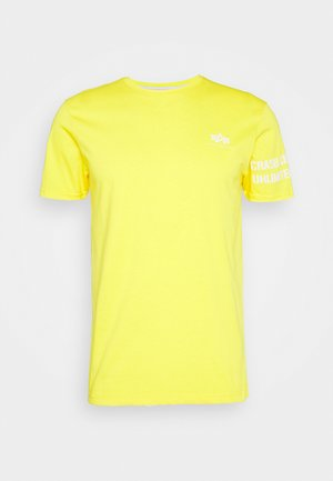 UNLIMITED - Triko spotiskem - empire yellow