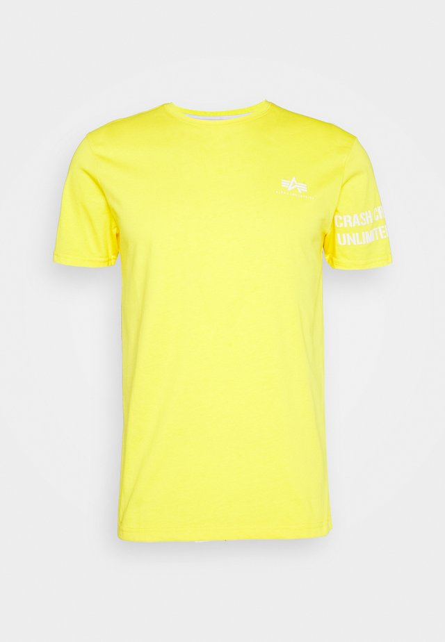 UNLIMITED - Print T-shirt - empire yellow