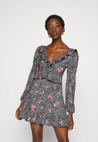 Topshop - DOUBLE TEA DRESS - Vestido informal - multi - 0
