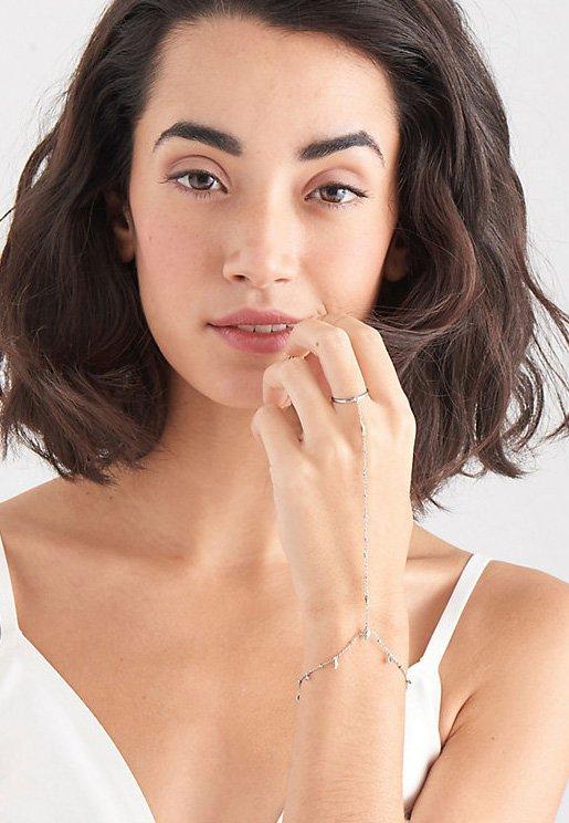 Ania Haie - BOHEMIA HAND CHAIN  - Bracelet - silber