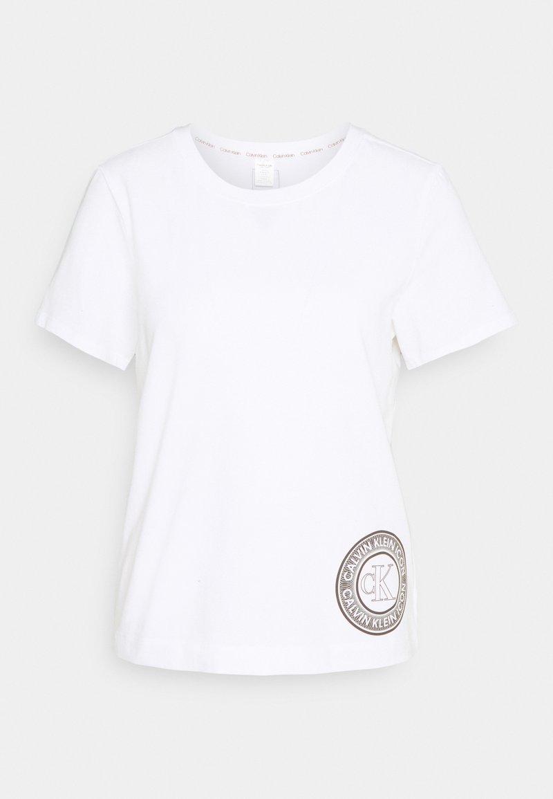 Calvin Klein Underwear - ICONIC LOUNGE CREW NECK - Pyjama top - white