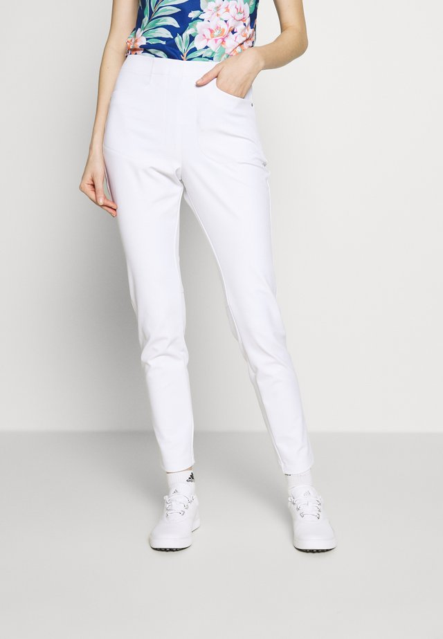 EAGLE ATHLETIC PANT - Trousers - pure white