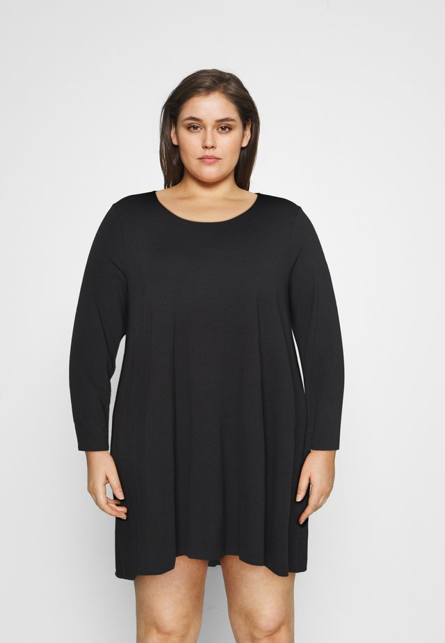 SWING DRESS - Jerseyjurk - black