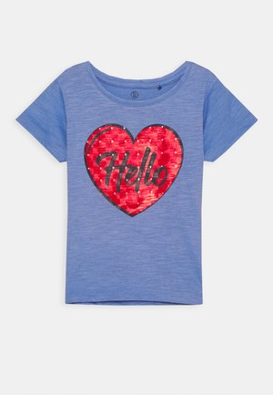 SMALL GIRLS  - T-shirts print - blue yonder