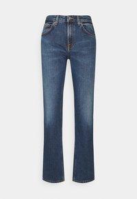 STRAIGHT SALLY - Straight leg jeans - dark stone