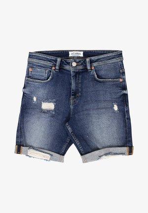 MIKE  - Denim shorts - blue