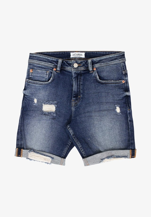 MIKE  - Jeansshorts - blue