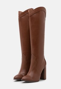 Wallis - PUDDING - High heeled boots - tan - 2