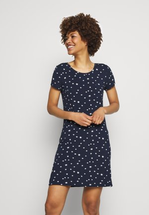 NIGHTDRESS - Nattskjorte - navy