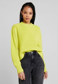 Monki - AGATA BASIC - Jumper - lime - 0