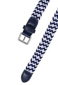 zero - Braided belt - dark blue - 2
