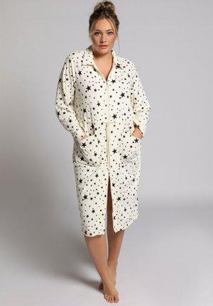 Dressing gown - cream white multi