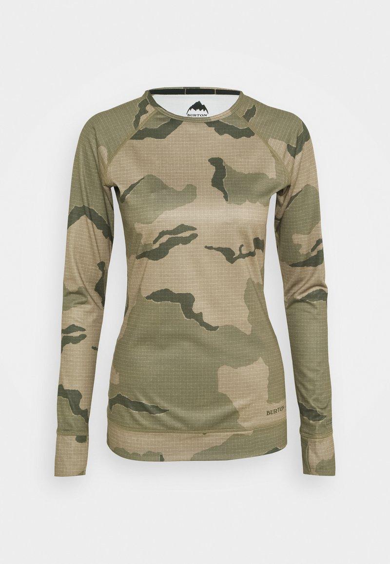 Burton - CREW TRELLIS - Sports shirt - beige