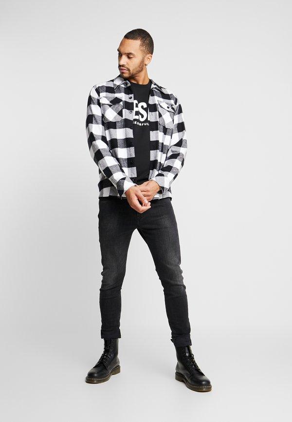 Diesel GIR DIVISION LOGO - Bluza - black/czarny Odzież Męska LKRT