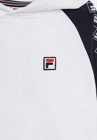 Fila - Felpa con cappuccio -  white - 3