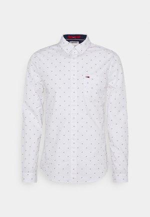 DOBBY SHIRT - Shirt - white