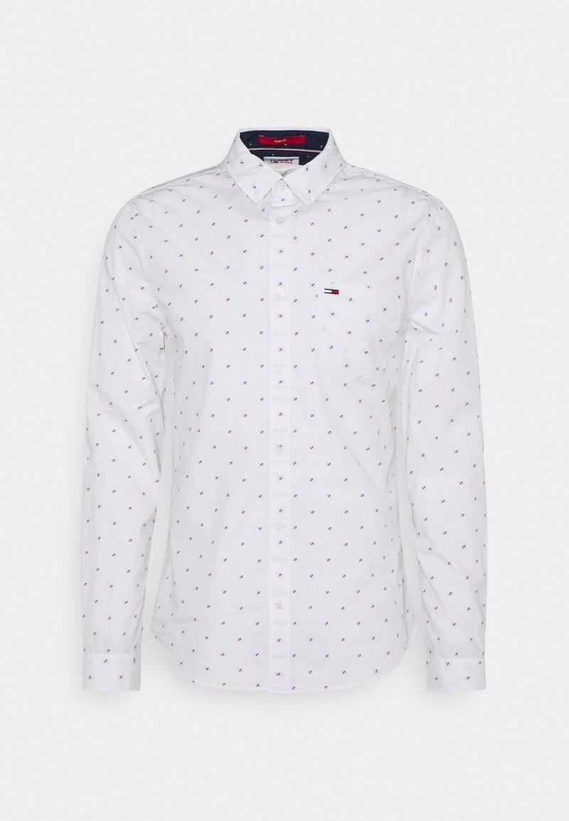 Tommy Jeans - DOBBY SHIRT - Košile - white