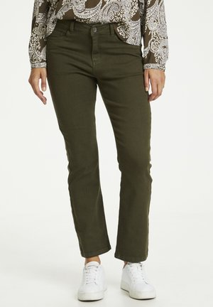 KAJORDI  - Straight leg jeans - grape leaf