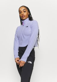 The North Face - GLACIER CROPPED ZIP - Fleece jumper - sweet lavender - 3