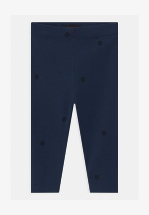 DOTS UNISEX - Leggings - Trousers - light navy/navy