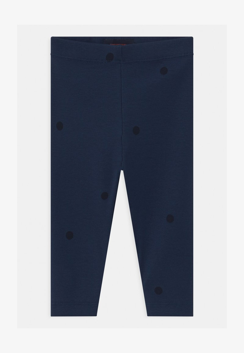 TINYCOTTONS - DOTS UNISEX - Leggings - Trousers - light navy/navy