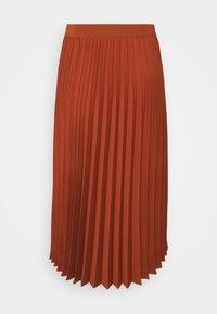 More & More - SKIRT MIDI - A-line skirt - terracotta - 1