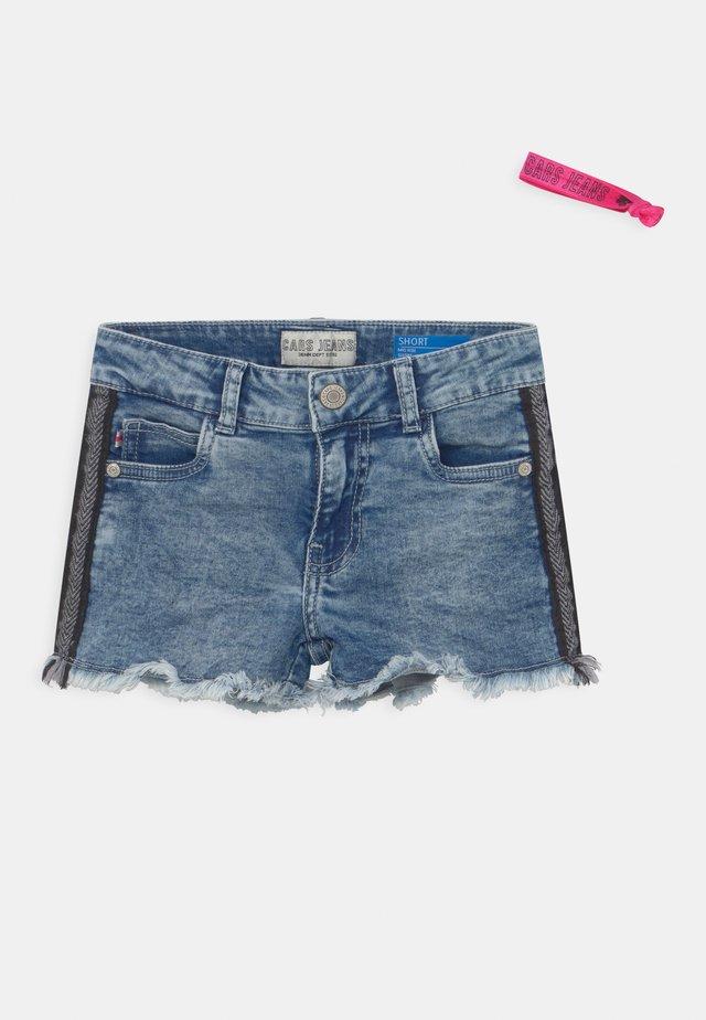 JILLA  - Short en jean - light-blue denim
