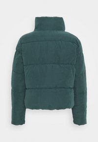 ONLY - ONLDINA SHORT QUILTED PUFFER - Winter jacket - green gables - 1