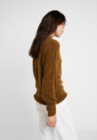 ICHI - AMARA - Stickad tröja - tapenade - 2