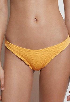 SEAMLESS CURLY CLASSIC  - Bikini bottoms - yellow