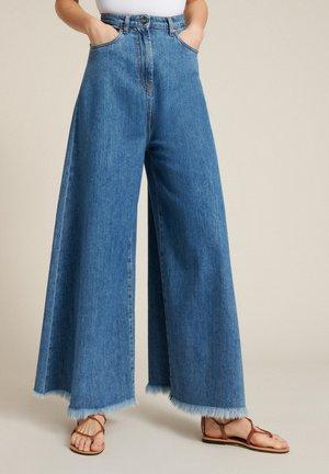 Flared Jeans - blu