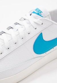 Nike Sportswear - BLAZER - Trainers - white/laser blue/sail - 7