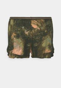 Hunkemöller - SHORT WORLD MAP - Pyjama bottoms - martine olive - 6