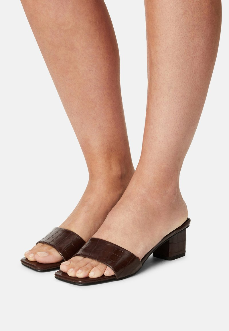 Rubi Shoes by Cotton On - CECIL - Heeled mules - choc
