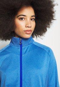 Callaway - MIDWEIGHT WAFFLE - Zip-up sweatshirt - blue tattoo heather - 3