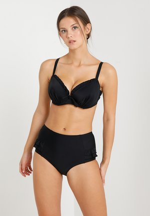 SPLASH PADDED UNDERWIRED - Bikini top - black